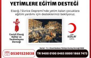 Kartal Kızılay'dan ve Cevizli Elazığlılar...