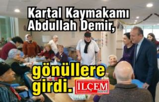 Kaymakam Abdullah Demir, Kartallıların gönüllerine...