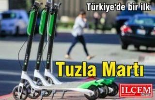 Türkiye'de bir ilk, Tuzla Martı