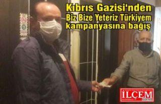 """Kıbrıs Gazisi'nden Biz Bize Yeteriz Türkiyem""""..."""