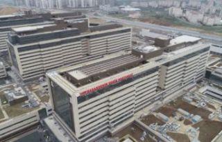 Türkiye'nin yüz akı, Başakşehir Şehir Hastanesi...