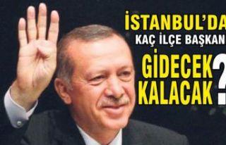 AK Parti İstanbul'da hangi ilçe başkanları gidecek,...