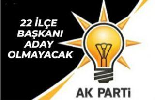 AK Parti İstanbul'un 22 ilçe başkanı görev...