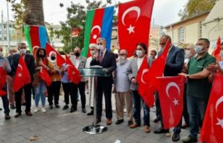 Azerbaycan Devletinin ve halkının yanındayız.