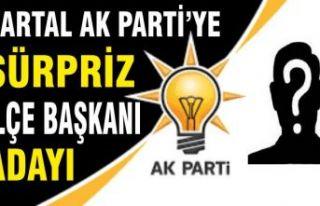 Kartal AK Parti'ye sürpriz ilçe başkanı adayı