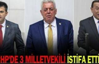 3 Milletvekili zehir zemberek açıklama ile CHP'den...