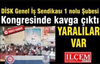 Genel İş Sendikası 1 nolu Şubesi kongresinde kavga...
