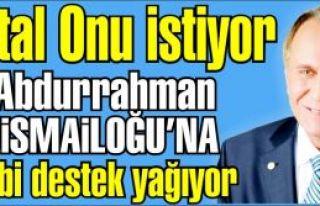 Abdurrahman Karaismailoğlu'na Muhtarlardan, STK'lardan...