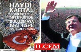 Ak Parti'den Büyük İstanbul Mitingi'ne davet var