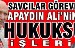 Ali Apaydın'ın Hukuksuz işlerine Adalet işleyecek...