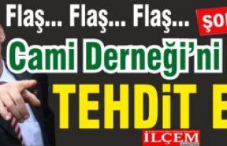 Altınok Öz Cami Dernek başkanı ve yönetimini...