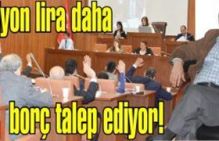 Altınok Öz'den 20 milyon lira daha borçlanma yetkisi...