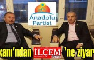 Anadolu Partisi İstanbul İl Başkanı Yavuz Çengel'den...