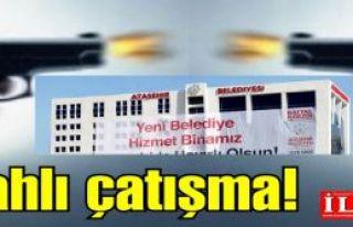Ataşehir Belediyesi önünde silahlı çatışma!