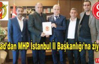 Aygad'dan MHP İstanbul İl Başkanlığı'na...