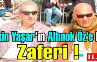 Aytekin Yaşar, yargı önünde Altınok Öz'e karşı...