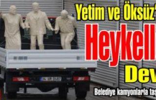 Borç Batağında ki Kartal Belediyesi Heykellere...