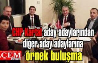 CHP Kartal aday adaylarından diğer aday adaylarına...