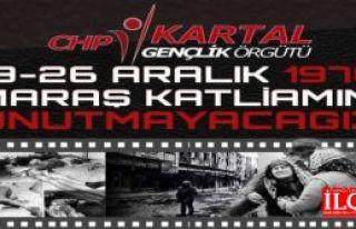 CHP Kartal Gençlik Ögrütünden Maraş katliamını...