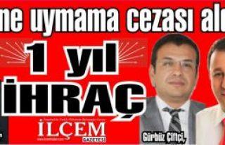 CHP'den düzene uymayan dürüst meclis üyelerine...