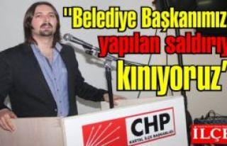 CHP'li Gençler ''Belediye Başkanımıza yapılan...