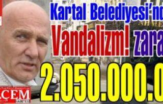 CHP'li Kartal Belediyesi'nden Vandalizm! Kamu zararı...