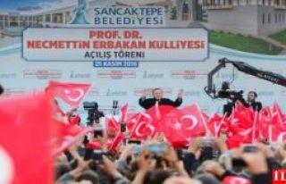 Cumhurbaşkanı Erdoğan, Prof. Dr. Necmettin Erbakan...