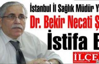 Dr. Bekir Necati Şimşek İstifa Etti.