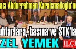 Eczacı Abdurrahman Karaismailoğlu'ndan Muhtarlara,...