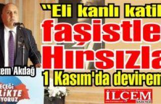 """Görkem Akdağ """"Eli kanlı katilleri, faşistleri,..."""
