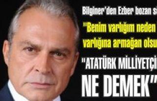 Haluk Bilginer ''Benim varlığım neden Türk varlığına...