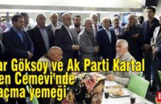 Haydar Göksoy ve Ak Parti Kartal İlçe'den Cemevi'nde...