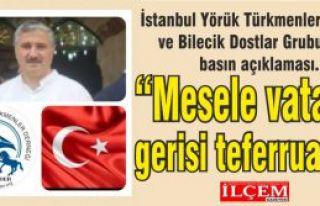 İstanbul Yörük Türkmenler Derneği ve Bilecik...