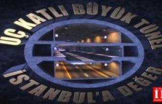 İstanbul'a Üç katlı büyük tünel. Dünyada eşi...