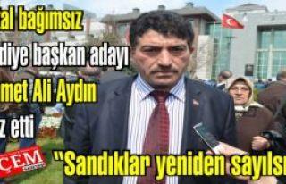 Kartal bağımsız belediye başkan adayı Mehmet...