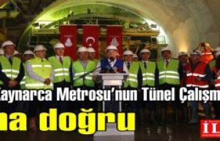 Kartal-Kaynarca Metrosu'nun Tünel Çalışmalarında...