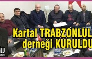 Kartal Trabzonlular Derneği Kuruldu. Dernek Başkanı...