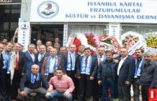 Kartal'da Erzurumlular Derneği açıldı!