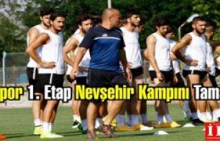 Kartalspor 1. Etap Nevşehir Kampını Tamamladı.