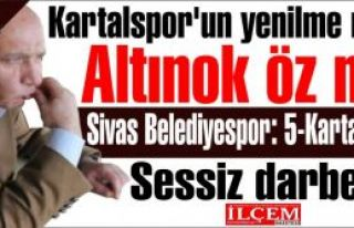 Kartalspor'un yenilme nedeni Altınok Öz mü? Sivas...