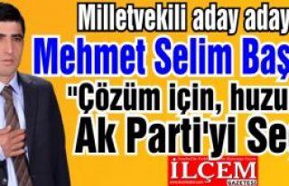 Mehmet Selim Başboğa ''Barış için, Çözüm için...