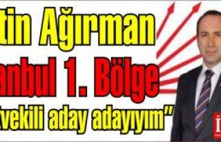 Metin Ağırman Milletvekili aday adayı