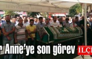 Metin Bektaş'ın Annesinin cenaze töreni Kartal...