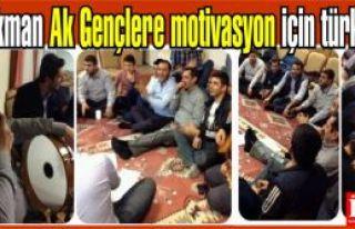 Muhammet Mehdi Akman Ak Gençlere motivasyon için...