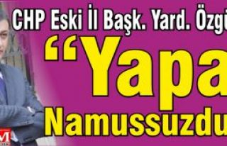 """Özgür Nas """"Yapan Namussuzdur!"""""""