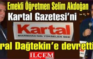 Selim Akdoğan Kartal Gazetesi'ni Vural Dağtekin'e...