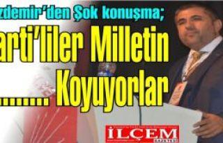 """Taner Özdemir """"Ak Parti'liler Devletin ve milletin..."""