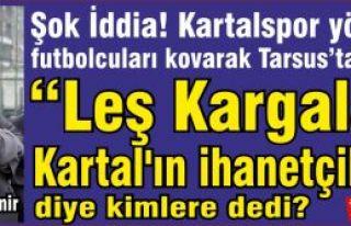 """Taner Özdemir """"Leş Kargaları! Kartal'ın ihanetçileri!""""..."""