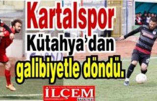 TKİ Tavşanlı Linyitspor: 1 - Kartalspor: 2