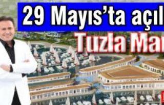 Tuzla Marina, 29 Mayıs'ta Açılıyor